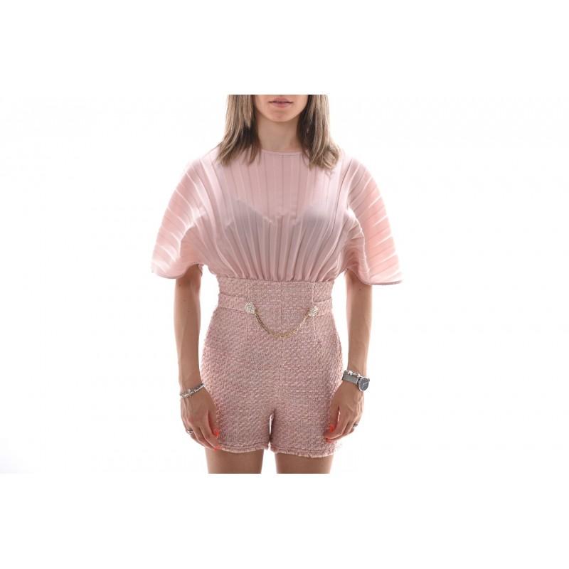 PINKO - Boucle Jumpsuit SBALLARE - Nude/Pink