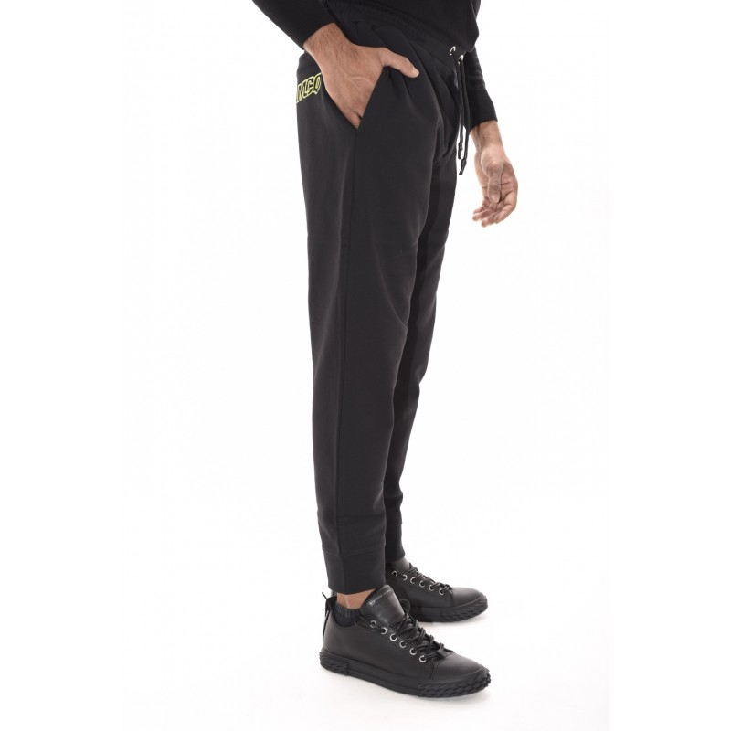 MCQ BY ALEXANDER MCQUEEN - Cotton trousers With Logo - Darkest Black