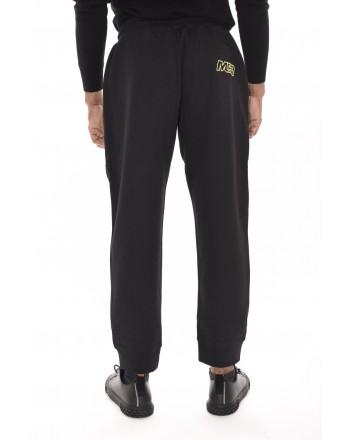 MCQ BY ALEXANDER MCQUEEN - Pantalone in cotone con logo - Darkest Black