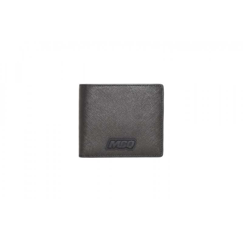 MCQ BY ALEXANDER MCQUEEN - MCQ HYPER  leather wallet - Black