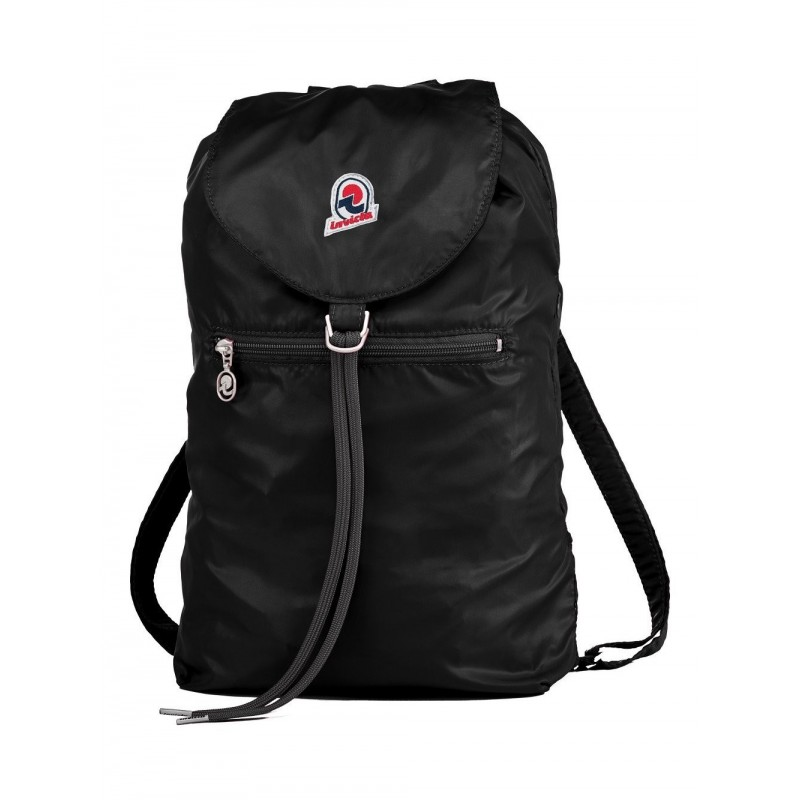 INVICTA - Backpack MINISAC GLOSSY - Black