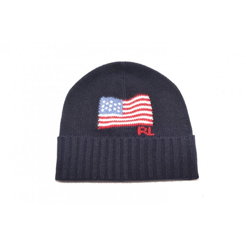 POLO RALPH LAUREN - USA Flag Cap - Navy