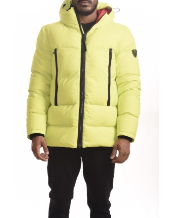 ROSSIGNOL - Quilted ABSCISSE down jacket with wood - Lime