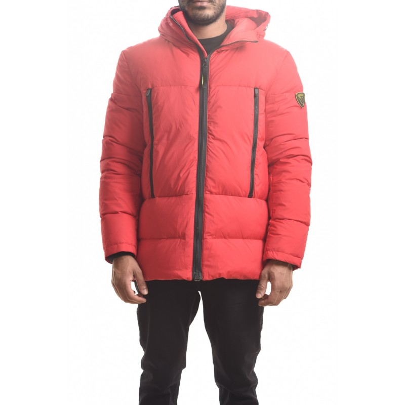 ROSSIGNOL - Quilted ABSCISSE down jacket with wood - Red