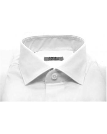 ERMENEGILDO ZEGNA - Camicia in cotone - Bianco