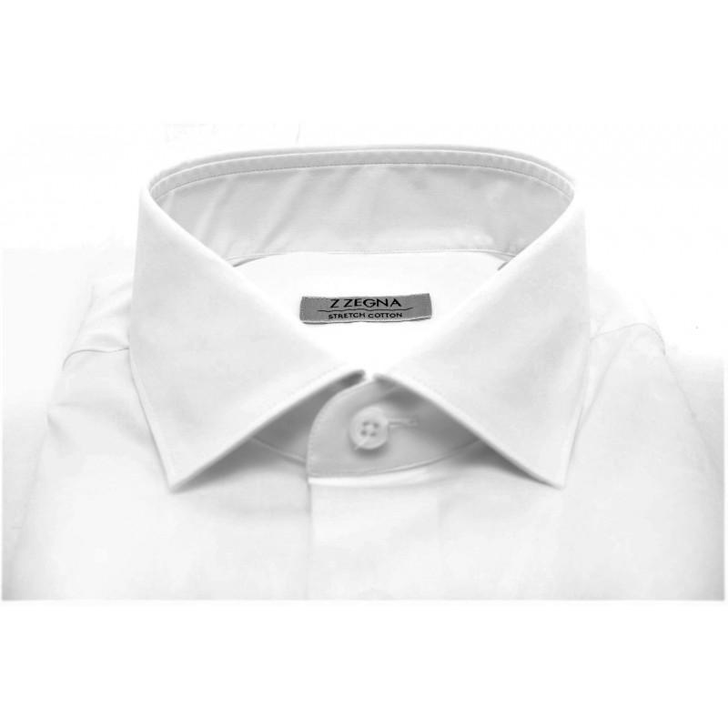 ERMENEGILDO ZEGNA - Cotton shirt - White