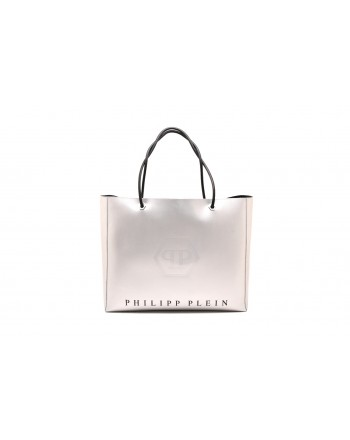 PHILIPP PLEIN - Borsa Hobo Bag Original -Argento