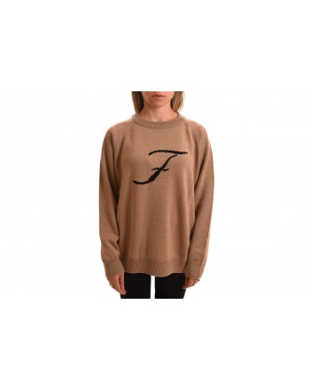 FAY - F Wool Over Knit - Camel