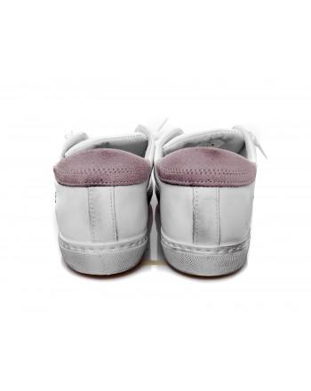 2 STAR - Sneakers in pelle - Bianco/Rosa