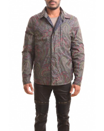 ETRO - Two Fabrics Patterned Shirt - Patterned