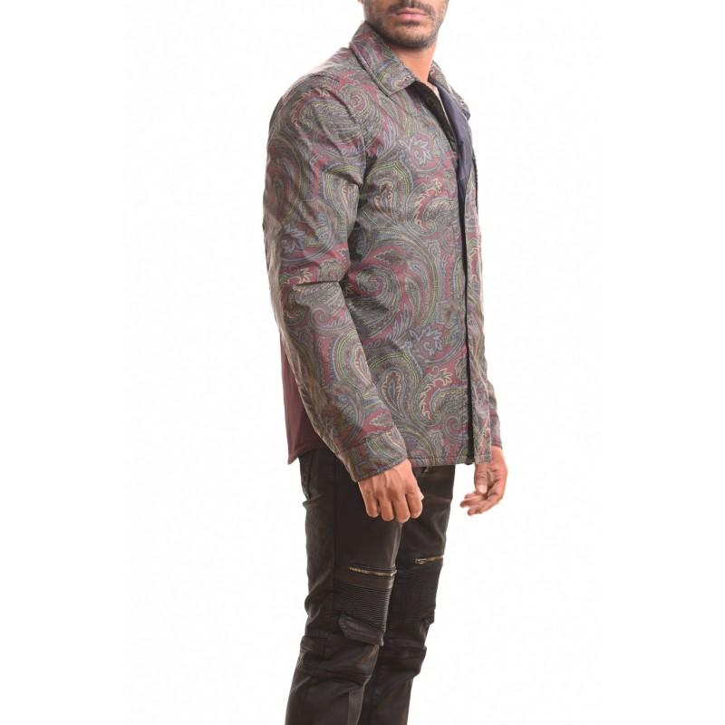 ETRO - Two Fabrics Patterned Shirt - Patterned