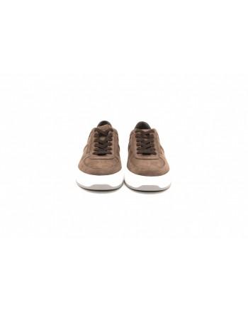 TOD'S - Sneakers in pelle - Fondente