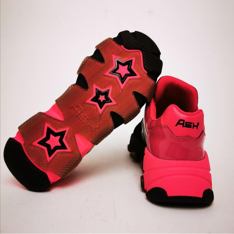 ASH - Sneakers EXTASY -Nero/Fucsia