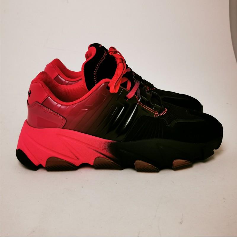 ASH - EXTASY Sneakers -Black/Fuchsia