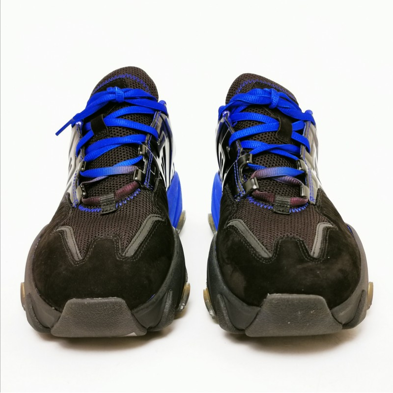 ASH - Sneakers EXTASY -Nero/Indaco