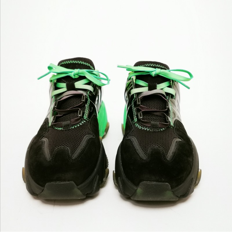 ASH - EXTASY Sneakers -Black/Green