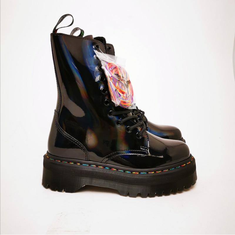 DR. MARTENS - RAINBOW Boots - Black