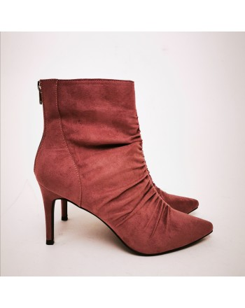 MADDEN GIRL - Draped Boots  - Dark Mauve