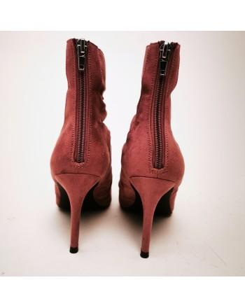 MADDEN GIRL - Draped Boots  - Dark Mauve