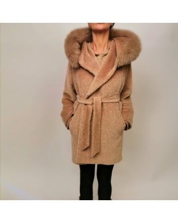 MAX MARA STUDIO - Wool Coat OSMIO -  Camel