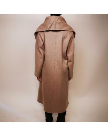 MAX MARA STUDIO - Cappotto DISEGNO in cashmere - Cacha melange
