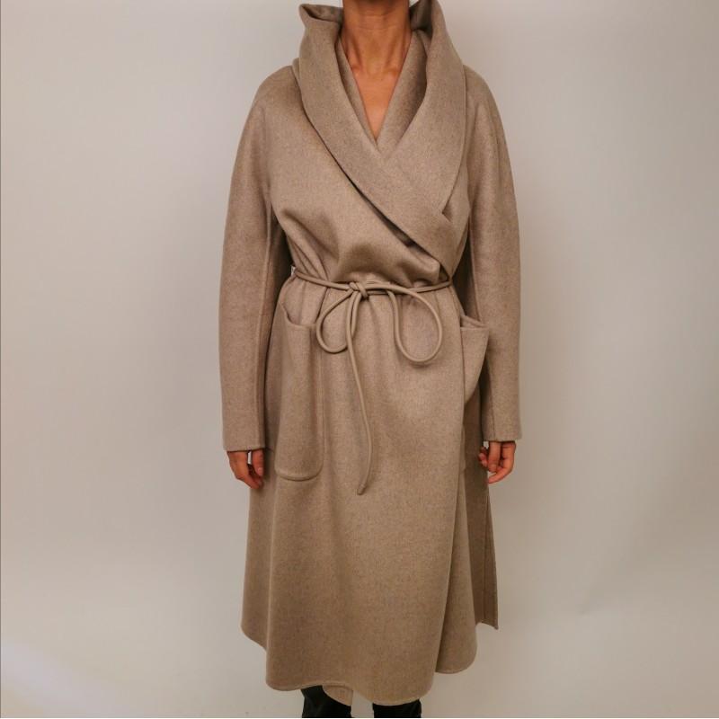 MAX MARA  - DISEGNO coat in cashmere - Cacha melange