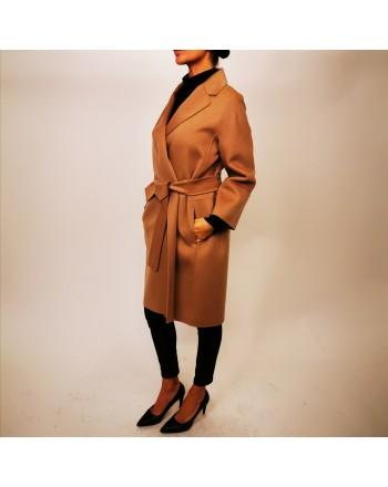 S MAX MARA - Wool Coat ARONA - Miele