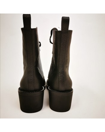 KENDALL+KYLIE - Leather Boots PARK - Black