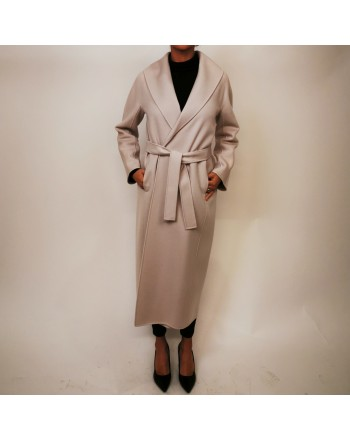 S MAX MARA -  MESSILU Wool Coat - New Spring White