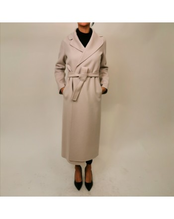 S MAX MARA - POLDO Wool Coat  - New Spring White