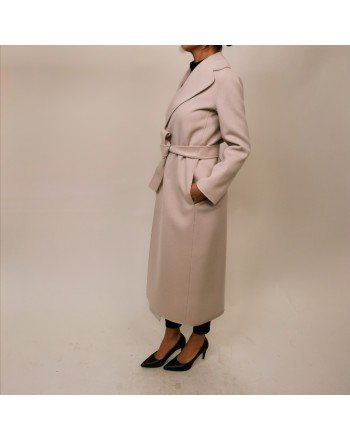 S MAX MARA -Cappotto in Lana POLDO  - New Spring White
