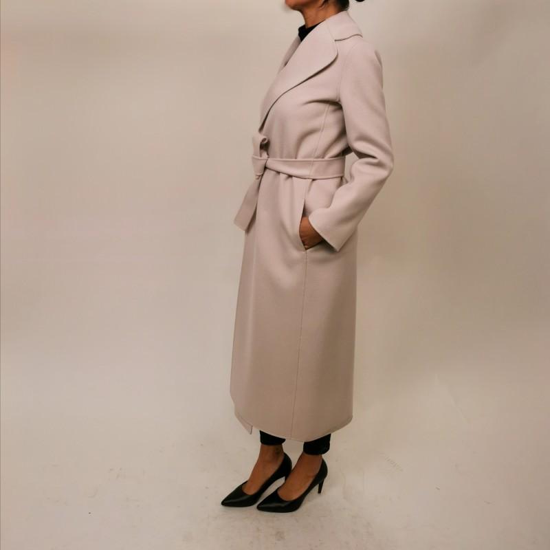 S MAX MARA -Cappotto in Lana POLDO  - New Spring White