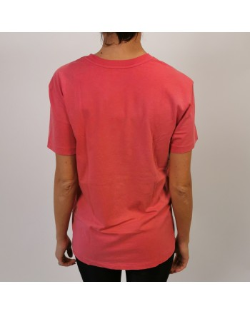 POLO RALPH LAUREN -  T-Shirt  stampa POLO in cotone - Nantucket red