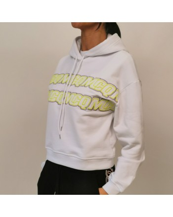 MCQ BY ALEXANDER MCQUEEN - Cotton hoodie - White