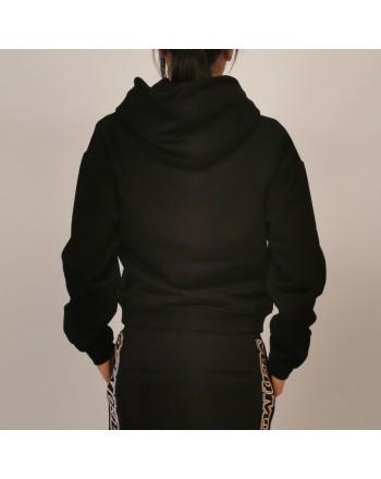 MCQ BY ALEXANDER MCQUEEN - Cotton hoodie - Darkest Black