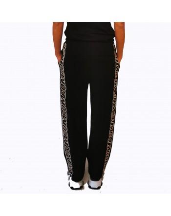 MCQ BY ALEXANDER MCQUEEN - Cotton trousers With Logo - Darkest Black