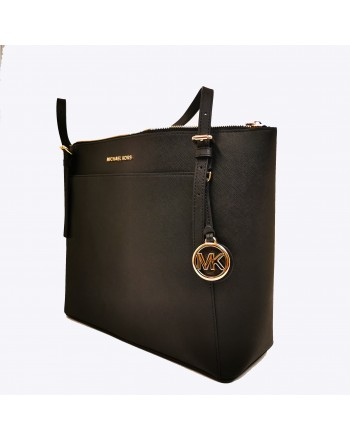 MICHAEL BY MICHAEL KORS - Borsa tote Voyager in pelle - Nero
