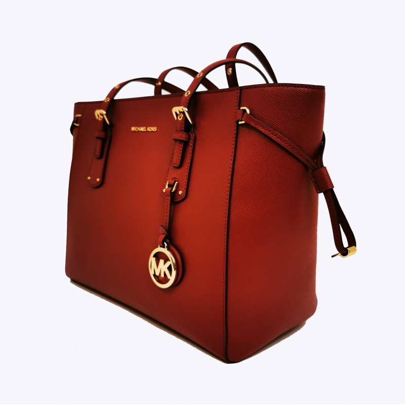 MICHAEL BY MICHAEL KORS - VOYAGER leather bag - Brandy