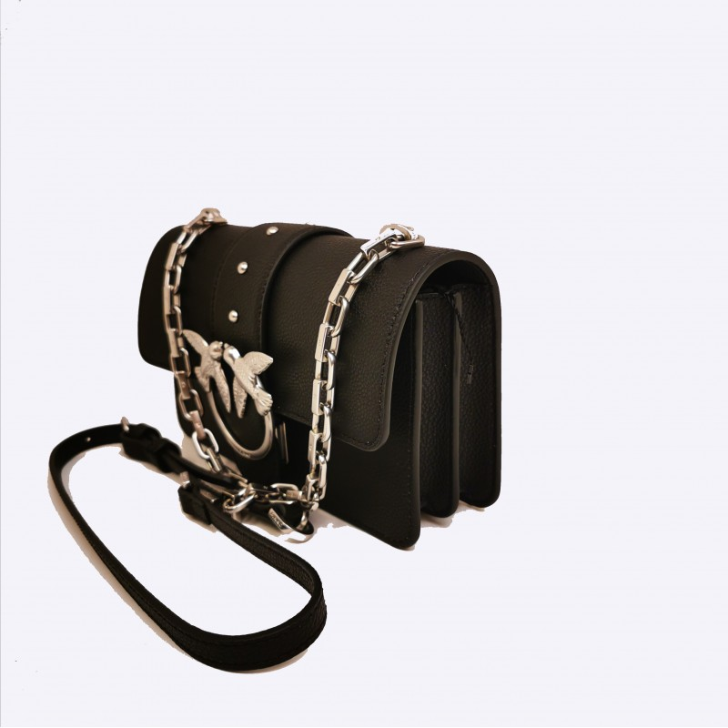 PINKO - Borsa MINI LOVE SIMPLY - Nero