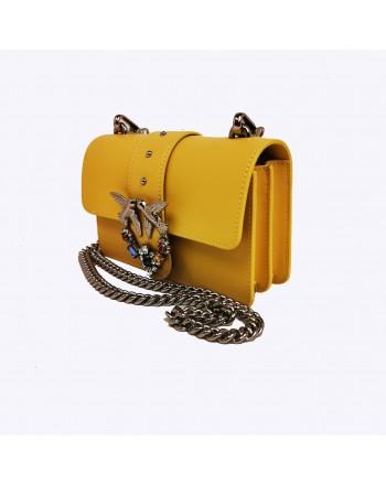 PINKO - MINI LOVE JEWELS Bag - Yellow