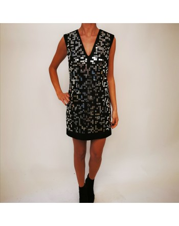PINKO -  HAPPIER Dress with mini glasses