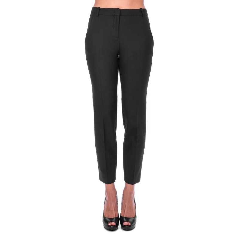 PINKO - BELLO trousers blended wool - Black