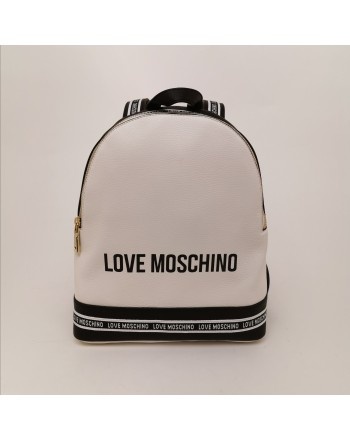 LOVE MOSCHINO - Zaino  in ecopelle - Bianco