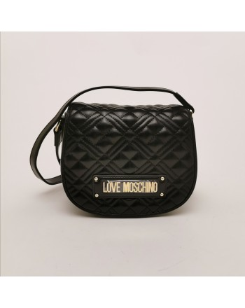 LOVE MOSCHINO -  quilted eco-leather bag