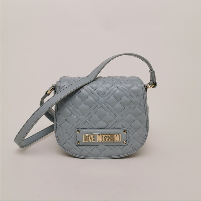 LOVE MOSCHINO -  Quilted eco-leather bag Nuvola
