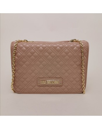 LOVE MOSCHINO - Metallic Chain Medium Bag