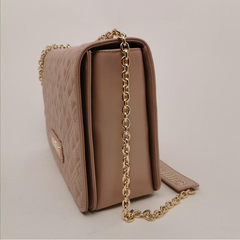 LOVE MOSCHINO - Metallic Chain Medium Bag
