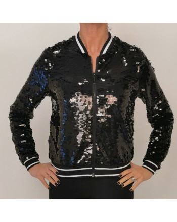 MICHAEL BY MICHAEL KORS - Jacket with sequins - Black