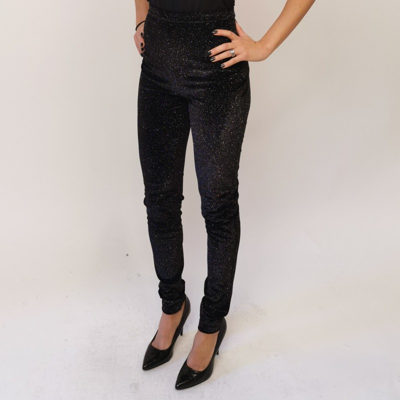 PHILOSOPHY -  Pantalone in lurex