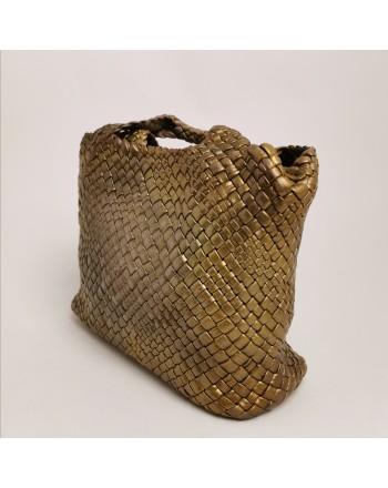 FALOR - Plaited leather small bag